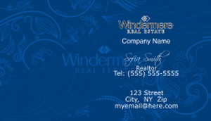 Windermere Business Cards Template: 528347