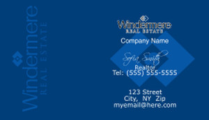 Windermere Business Cards Template: 528349