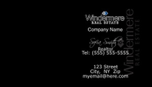 Windermere Business Cards Template: 528365