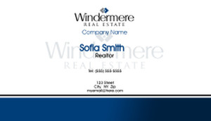 Windermere Business Cards Template: 528369