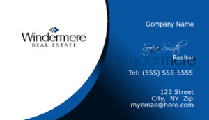 Windermere Business Cards Template: 526555