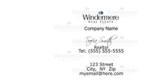 Windermere Business Cards Template: 526559
