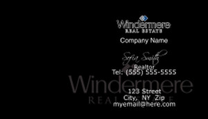 Windermere Business Cards Template: 528323