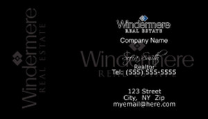 Windermere Business Cards Template: 528327