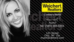 Weichert Business Cards Template: 500891