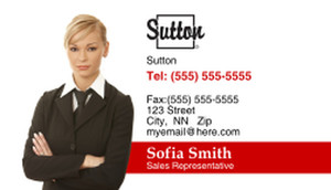 Sutton Business Cards Template