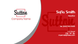 Sutton Business Cards Template: 500245