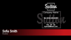 Sutton Business Cards Template: 500253