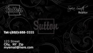Sutton Business Cards Template: 503165