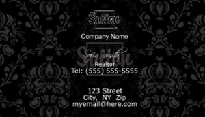 Sutton Business Cards Template: 503175