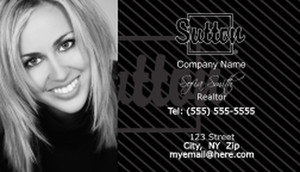 Sutton Business Cards Template: 500191