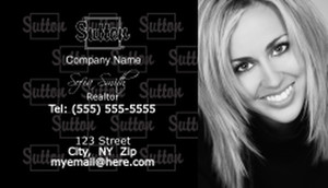 Sutton Business Cards Template: 500211