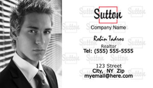 Sutton Business Cards Template: 500255