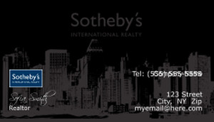 Sotheby Business Cards Template: 502083