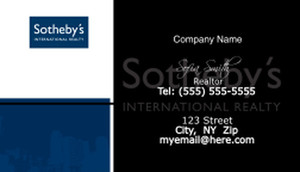 Sotheby Business Card Template