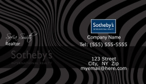 Sotheby Business Cards Template: 502767