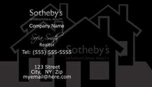 Sotheby Business Cards Template: 502775