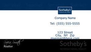 Sotheby Business Cards Template
