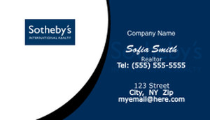 Sotheby Business Cards Template: 502123