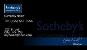 Sotheby Business Cards Template: 502131