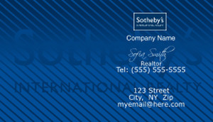 Sotheby Business Cards Template: 502135