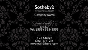 Sotheby Business Cards Template: 502771