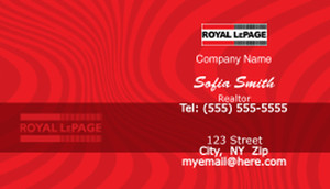 Royal Le Page Business Card Template