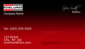 Royal Le Page Business Cards Template: 500173