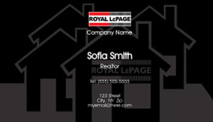 Royal Le Page Business Cards Template: 503933