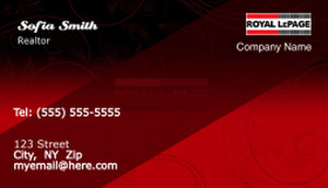 Royal Le Page Business Cards Template: 503947