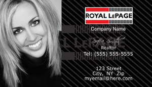 Royal Le Page Business Cards Template: 500103