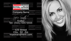 Royal Le Page Business Cards Template: 500123