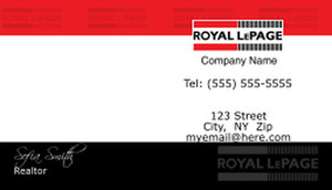 Royal Le Page Business Cards Template: 500155