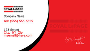 Royal Le Page Real Estate Design Template