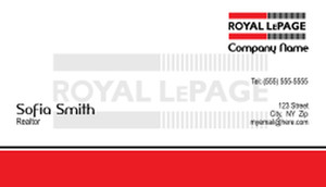 Royal Le Page Business Cards Template: 500161