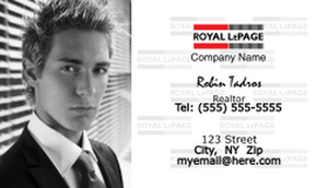 Royal Le Page Business Cards Template: 500167