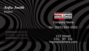 Royal Le Page Business Cards Template: 503925