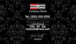 Royal Le Page Business Cards Template: 503929