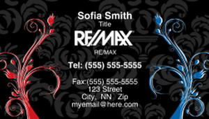 Remax Business Cards Template: 308121