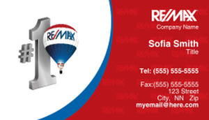Remax Business Cards Template: 363364