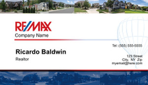 Remax Business Cards Template: 575675