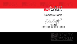 Realty World Business Cards Template: 528449