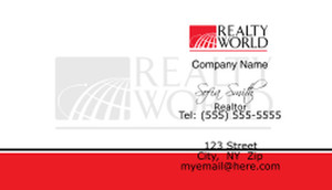 Realty World Business Cards Template: 528451