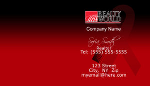Realty World Business Cards Template: 528473