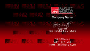 Realty World Business Cards Template: 528475