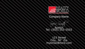 Realty World Business Cards Template: 528403