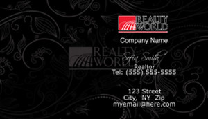 Realty World Business Cards Template: 528407