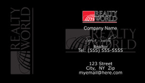 Realty World Business Cards Template: 528409