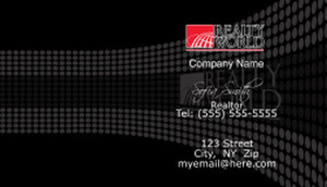 Realty World Business Cards Template: 528411