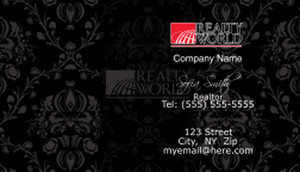 Realty World Business Cards Template: 528415